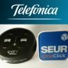 Telefónica I+D desarrolla botones click&go con SEUR y Cabify