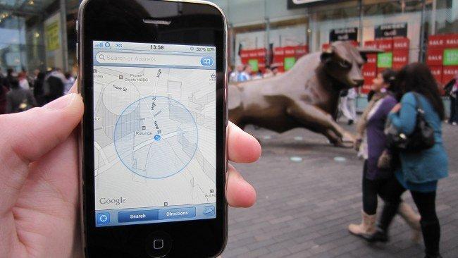 Apple lanzaría una nueva función de localizacion