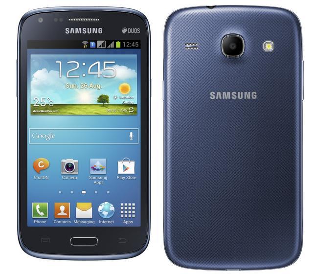 Samsung Galaxy Core, un smartphone de bajo coste con display de 4.3″ y dual sim