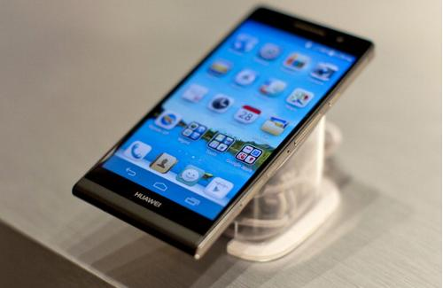 Huawei Ascend P6: el smartphone más delgado que desafía a Apple y Samsung