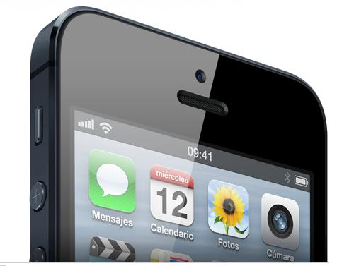 iPhone 5 de Apple es el smartphone más lento de alta gama