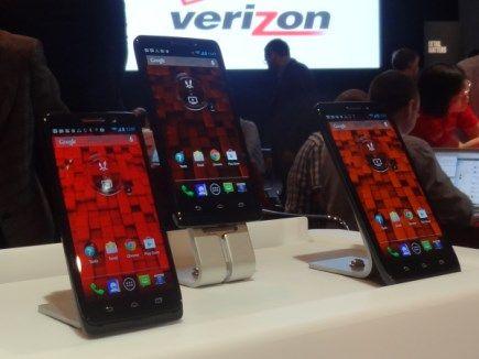 Motorola y Verizon anuncian nuevos smartphones de la familia Droid en Estados Unidos