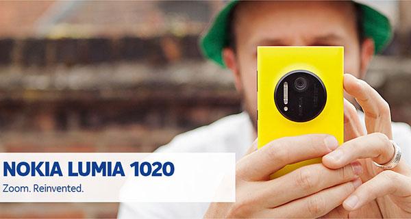 Nokia Lumia 1020 y sus costes en Europa