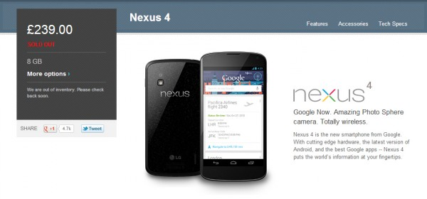 Nexus 5, habría señales de su lanzamiento al mercado