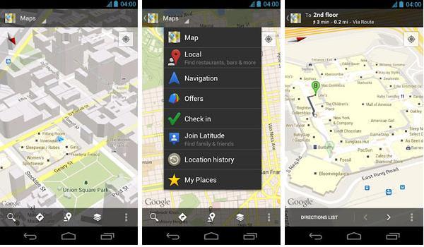 Google Maps, detalles de la nueva actualización