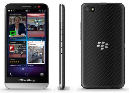 BlackBerry Z30, se develan algunos detalles