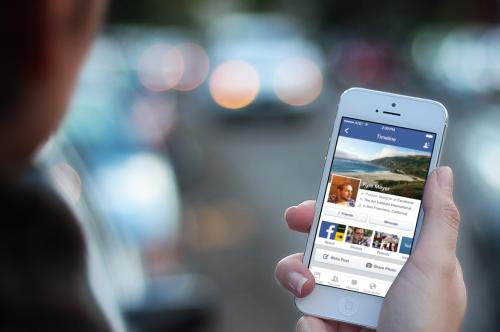 Facebook para iOS7 se actualiza y propone una nueva gráfica