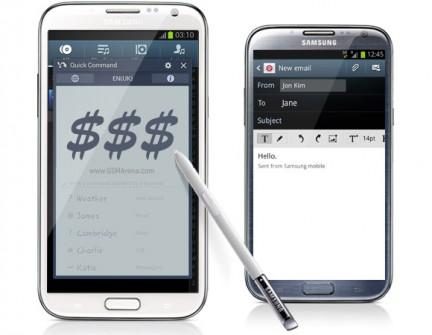 Samsung Galaxy Note II, más de 30 millones de unidades vendidas en todo el mundo