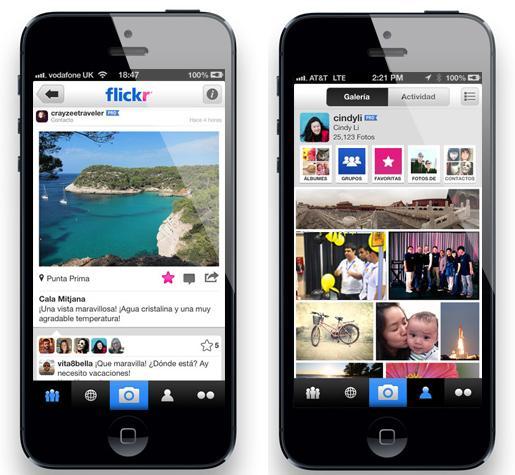 Flickr para iPhone se renueva con grandes novedades