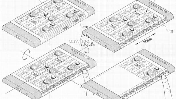 Samsung prepara smartphones con pantalla curva para el próximo año