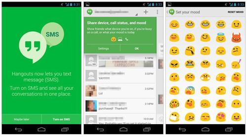 Google Hangouts 2.0, la mensajería de Google evoluciona