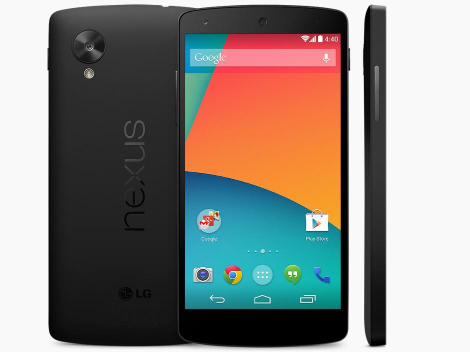Google Nexus 5, presentación el 28 de octubre con Android 4.4 KitKat