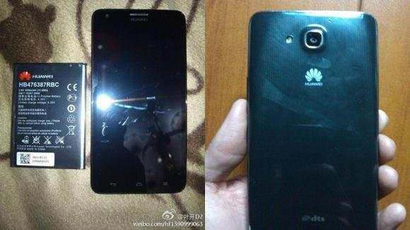 Huawei G750, primeras imágenes de un nuevo teléfono de 5,5 pulgadas