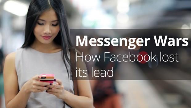 WhatsApp Messenger continúa liderando la mensajería instantánea