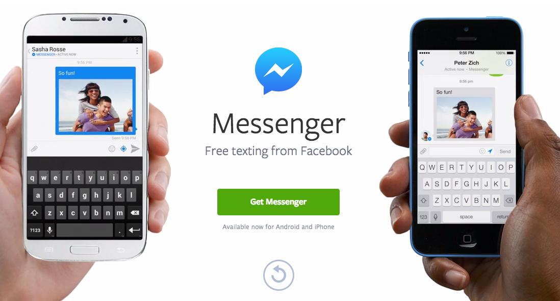 Facebook Messenger para iOS se actualiza y mejora las conversaciones