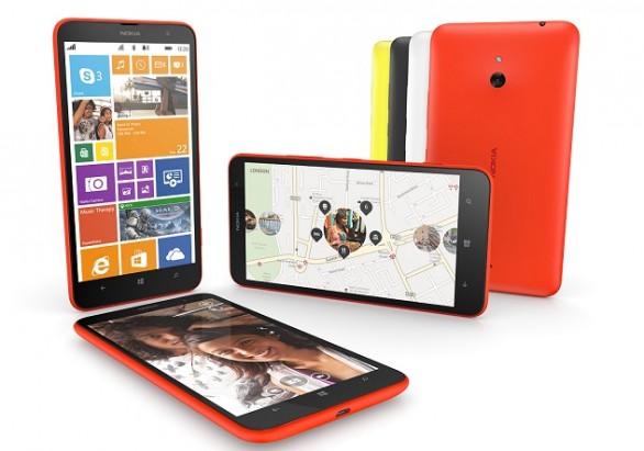 Nokia Lumia 1320 se lanzó oficialmente en China