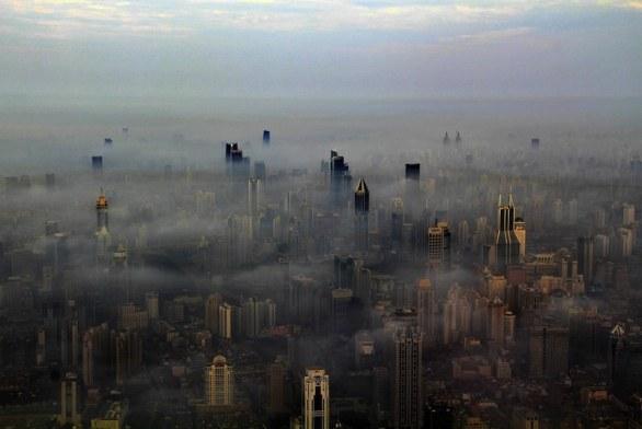 Skyline de la Torre Shanghai