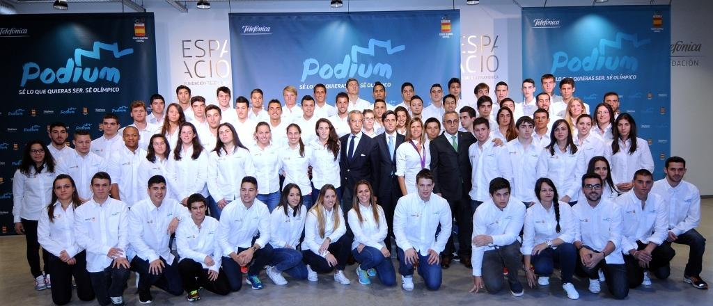 Telefonica lanza programa de apoyo a promesas olimpicas para Río 2016