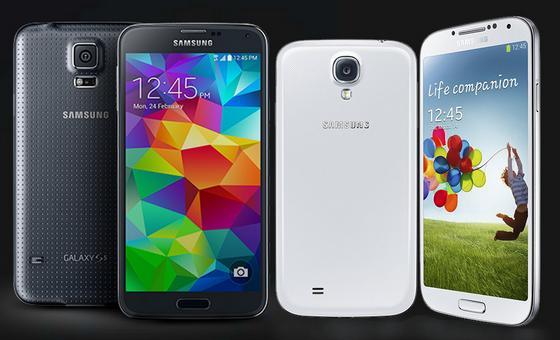 Samsung Galaxy S5 en el Mobile World Congress 2014, aunque con otro nombre