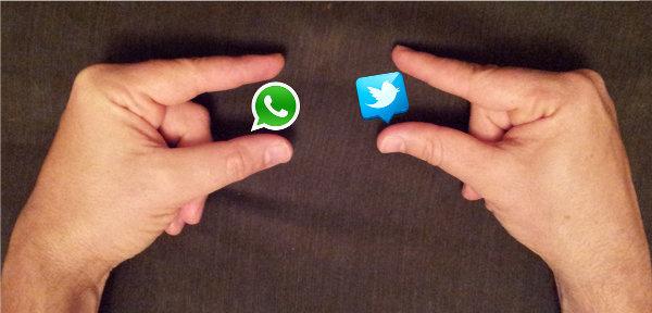 Twitter para Android tendría un botón para compartir con WhatsApp