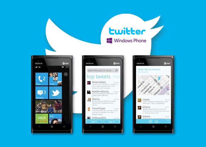 Twitter para Windows Phone 8 se actualiza: las novedades