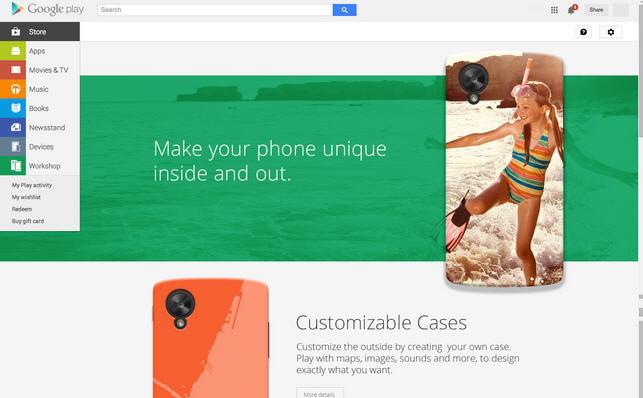 Google trabaja en carcasas para móviles personalizadas