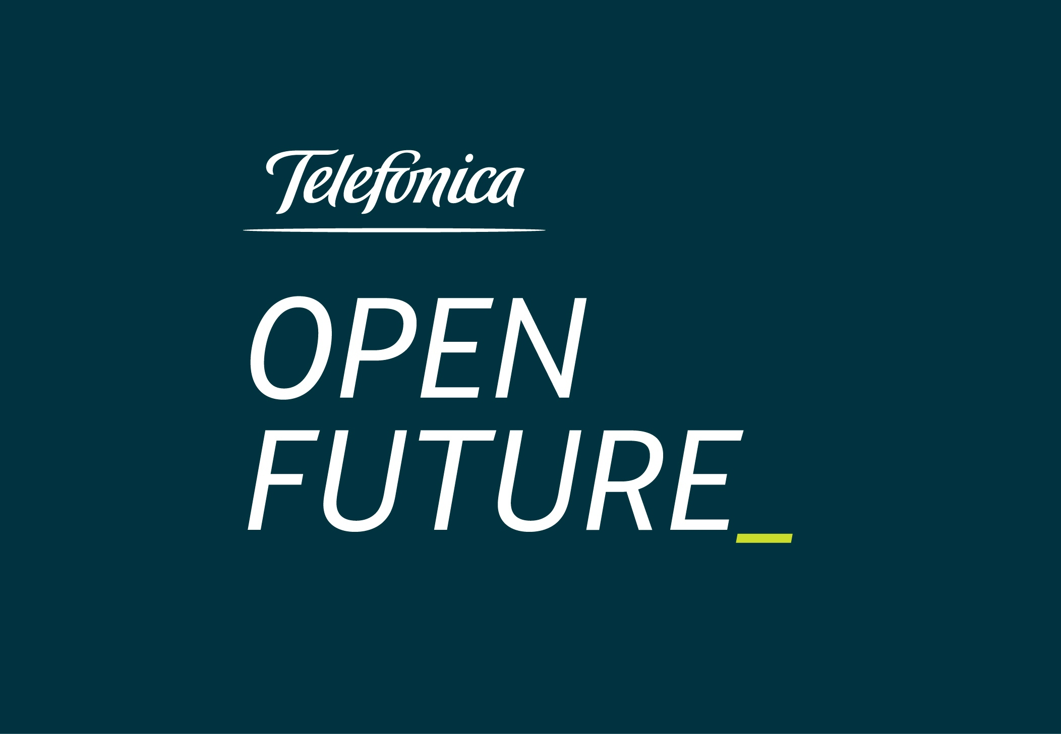 Telefónica lanza su reto global Open Future