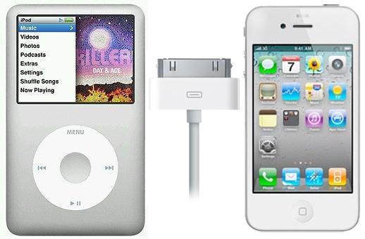 Apple abandona el iPod Classic y el conector de 30 pines