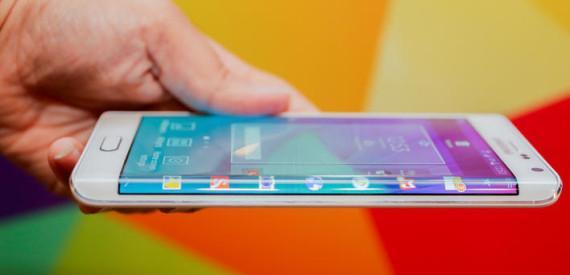 Samsung, pantallas flexibles para el 2015