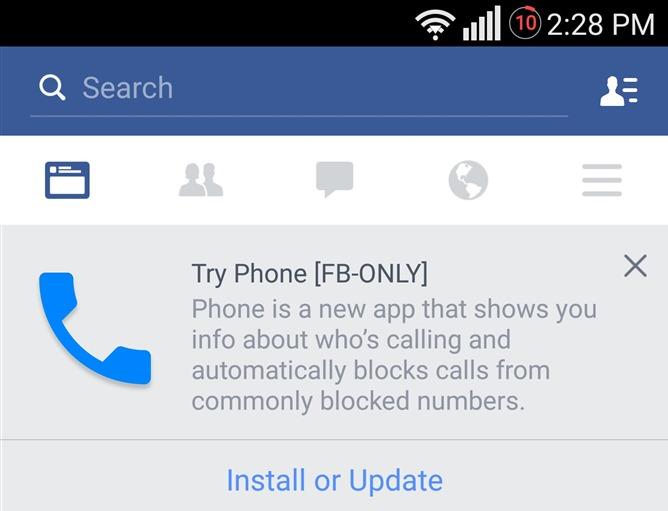 Facebook podría sacar una app para llamar gratis entre contactos