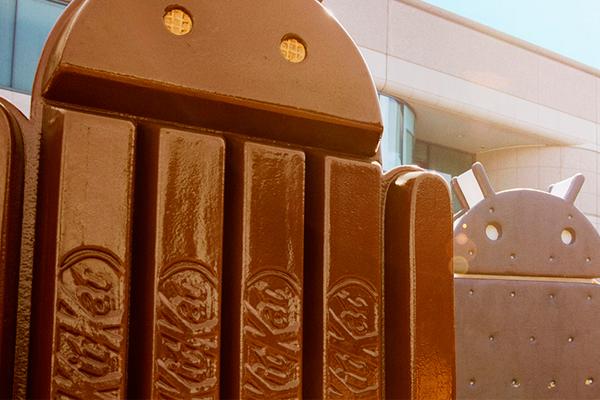 Android KitKat supera por primera vez a Jelly Bean en cuota de mercado
