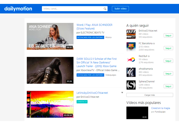 Vivendi presenta una oferta por Dailymotion, de Orange