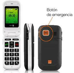 Orange y Doro lanzan un teléfono móvil para personas con edad avanzada
