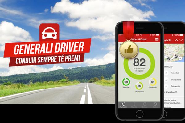 Telefónica y Generali lanzan Generali Driver, app de seguridad vial