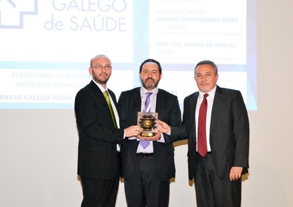 Telefónica recibe un premio por un proyecto de tecnología sanitaria