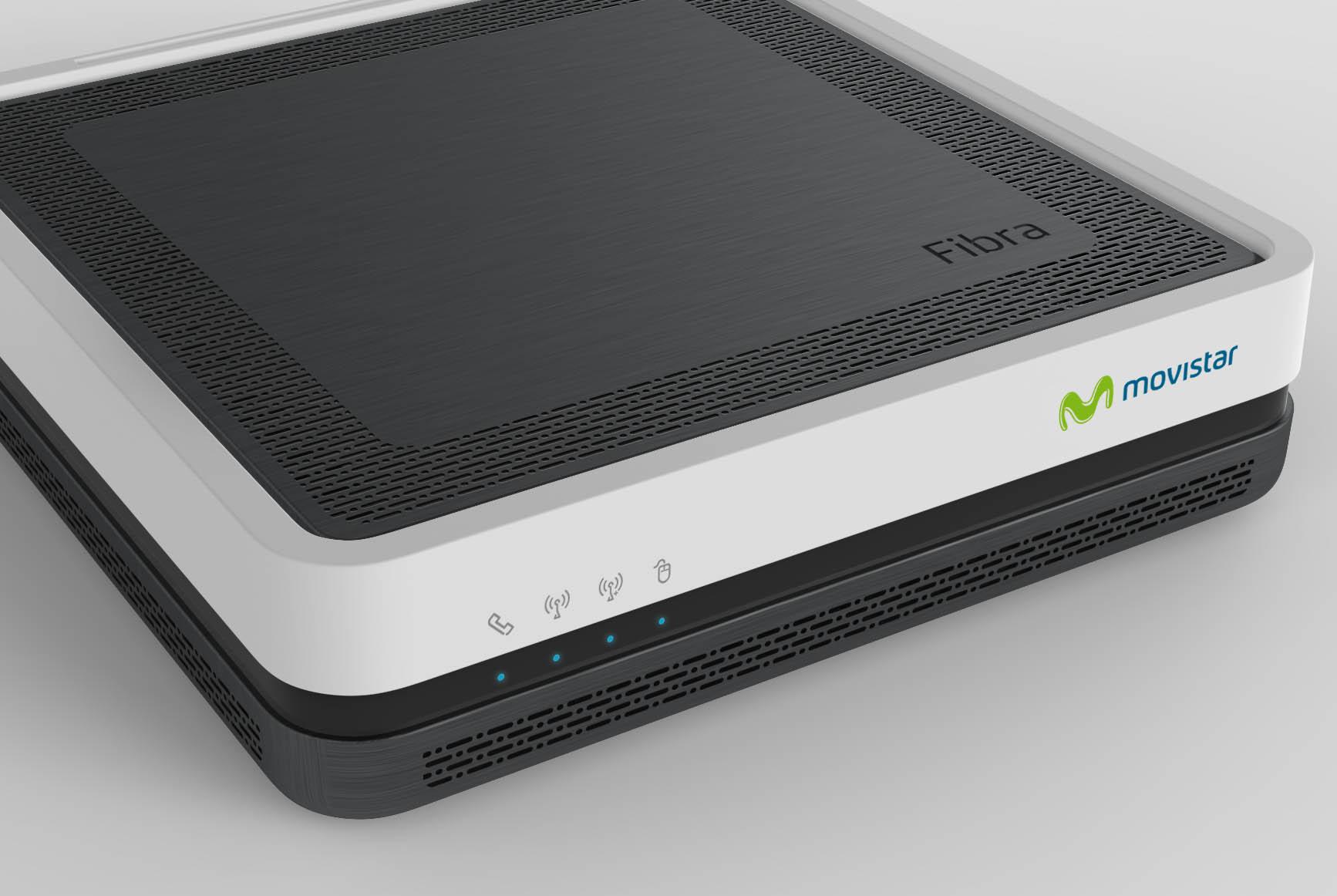 Home Gateway Unit, dispositivo 3 en 1 de Telefónica (router, ONT y videobridge)