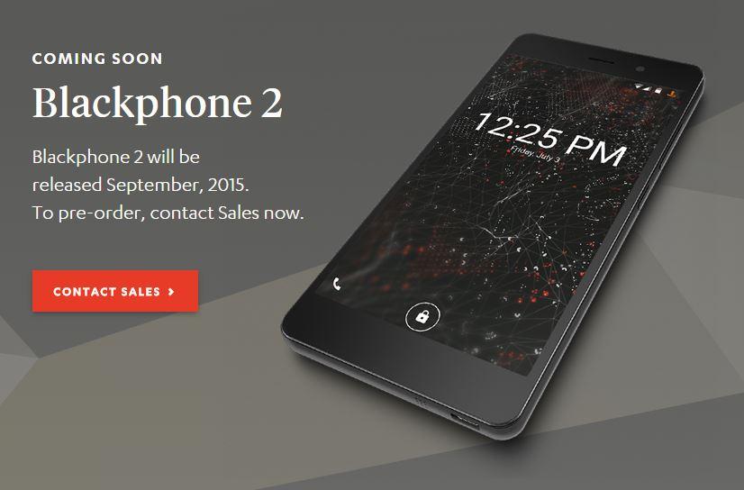 Blackphone 2, el Smartphone diseñado para preservar la privacidad