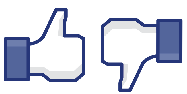 """Facebook incluirá el botón """"no me gusta"""""""