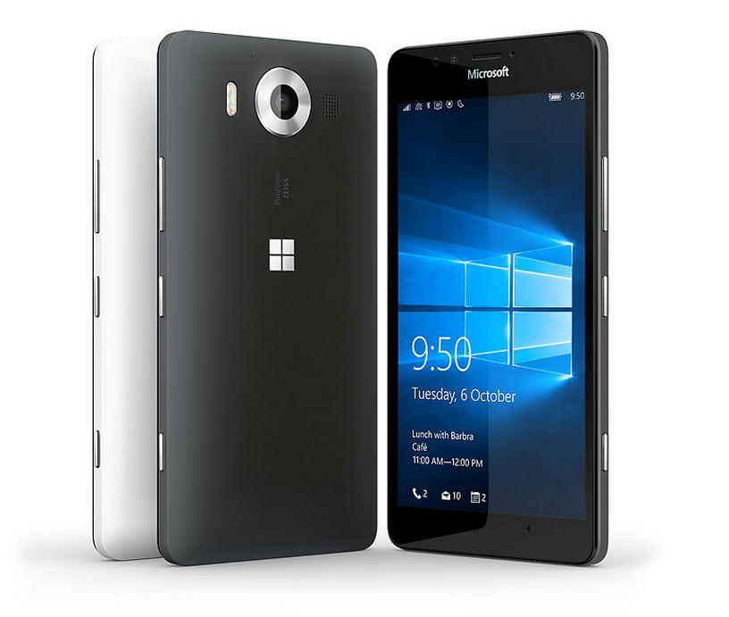 Microsoft presenta los nuevos 'smartphone' Lumia 950 y 950 XL y Lumia 550
