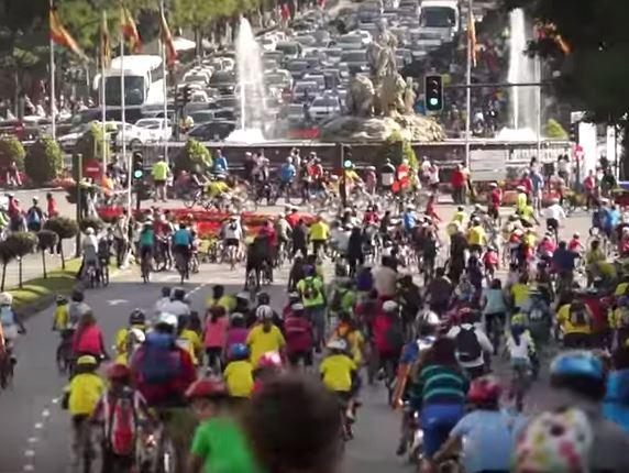 Movistar patrocina la Fiesta de la Bici con diversas iniciativas