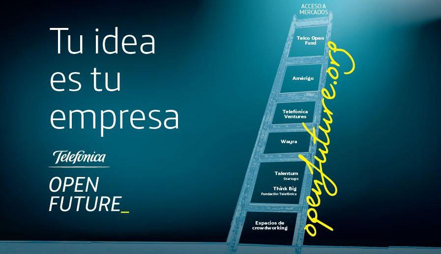 Telefónica Open Future_, proyecto de emprendimiento pionero en el mundo