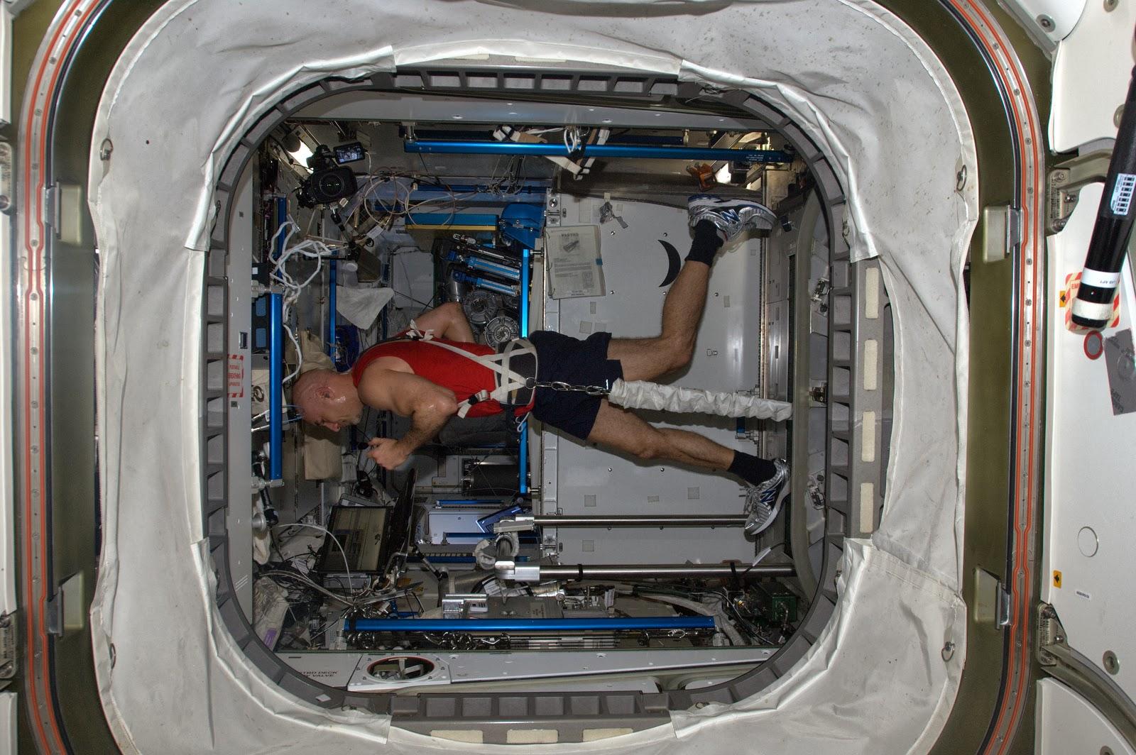 Tim Peake correrá un maratón sobre una cinta de correr en el espacio