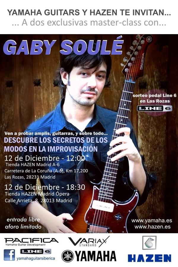 Dos exclusivas Master Class con Gaby Soulé