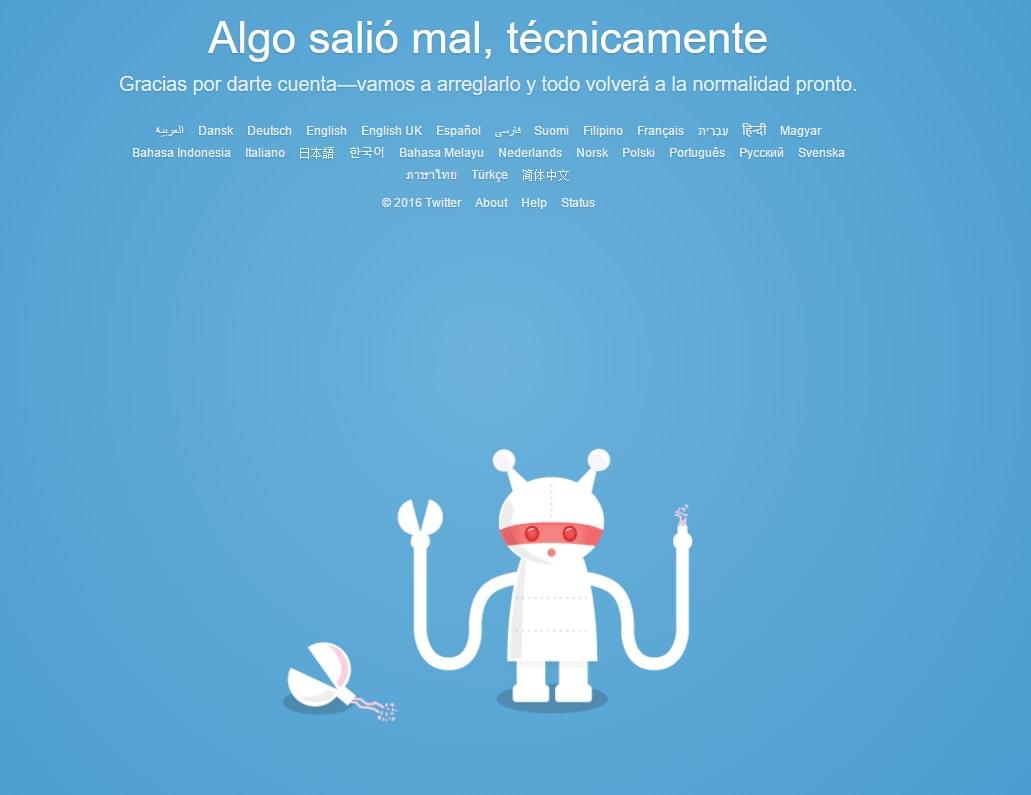 Twitter registró problemas de acceso durante varias horas