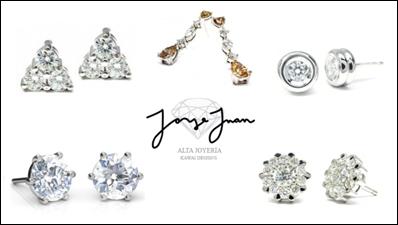 Nueva colección de pendientes de diamantes en Jorge Juan Joyeros