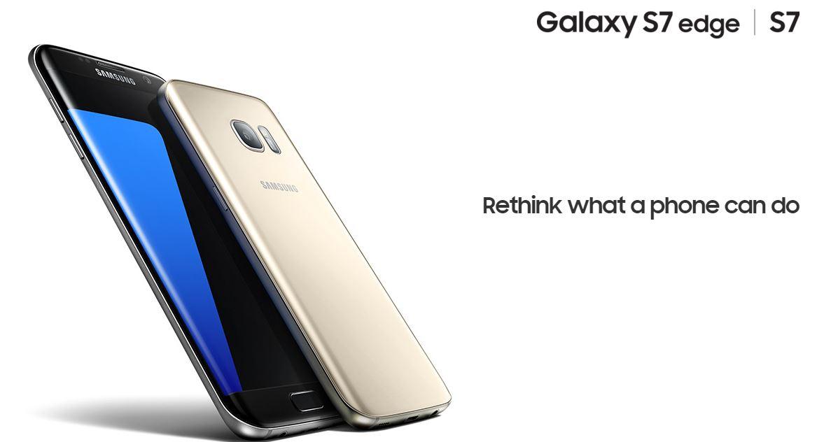 Samsung presenta en el MWC el Samsung Galaxy S7 y S7 edge