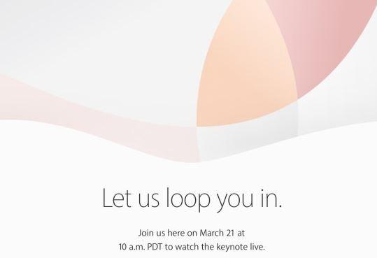 Apple podría presentar el nuevo iPhone el 21 de marzo