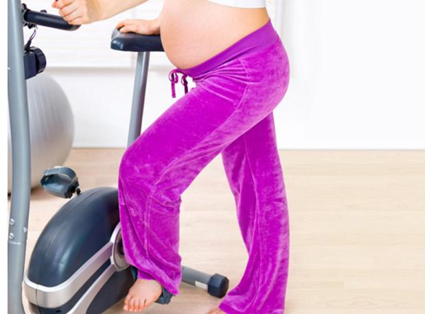 Beneficios de la bicicleta estática durante el embarazo