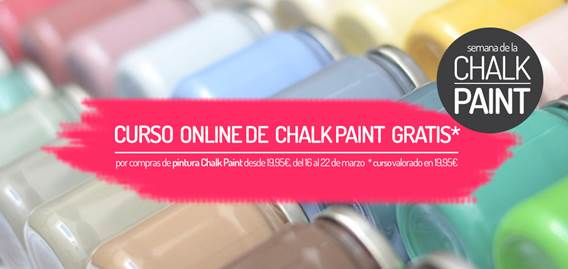 I do proyect lanza cursos gratuitos de Chalk Paint