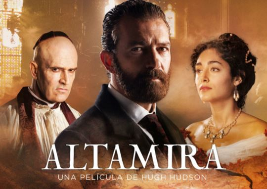 Llega a los cines Altamira, última película de Antonio Banderas